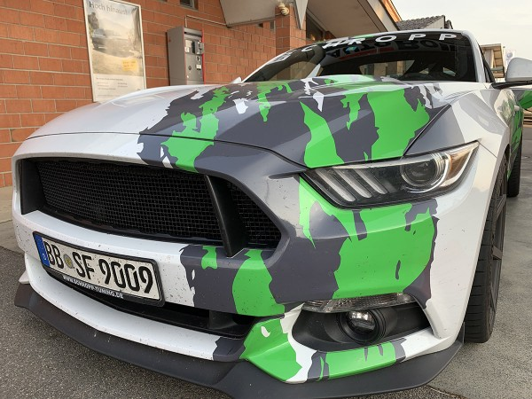 Abbes Design Frontgrill für Mustang 6