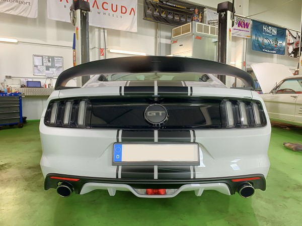 Abbes Design Big Wing für Mustang 6 Coupe